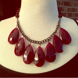 Maroon Necklace